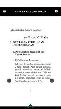 Doa dan Dzikir Haji - Umroh apk screenshot