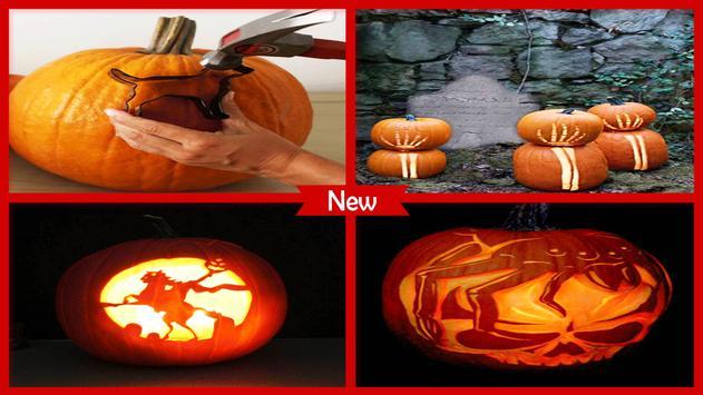 Easy Pumpkin Carvings Tutorials poster
