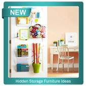Hidden Storage Furniture Ideas icon