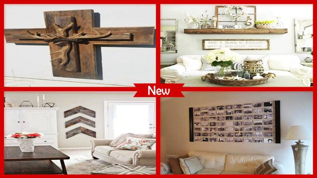 Rustic Wall Decor Tutorial For Kitchen poster
