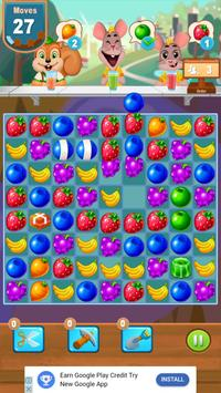 Candy Juice Fresh- Match 3 Puzzle poster
