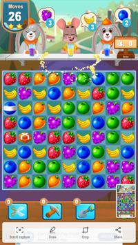 Candy Juice Fresh- Match 3 Puzzle screenshot 2