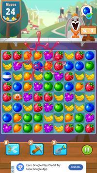 Candy Juice Fresh- Match 3 Puzzle screenshot 3