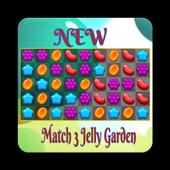 New Jelly Garden Match 3 icon