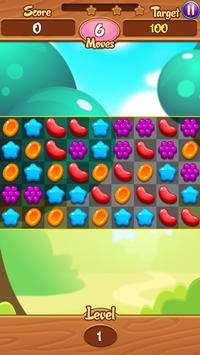New Jelly Garden Match 3 screenshot 1