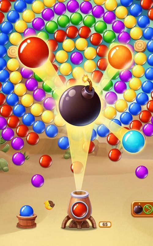 игра инопланетные взрывные пузырьки для нокиа аша 200 320x240