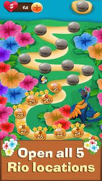 Fruit Rio Splash: Match 3 apk screenshot