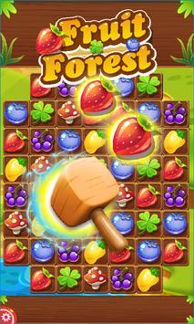 'Fruit Forest: Match3 & Blast screenshot 1