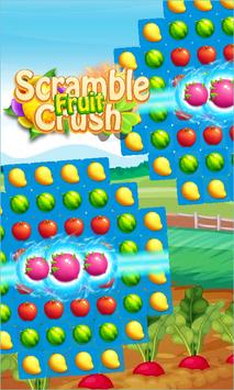 Scramble Fruit Crush poster