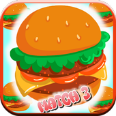 Match 3 : Burger And Soda icon