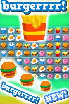 Match 3 : Burger And Soda screenshot 3
