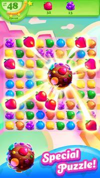 Fruit Candy Smash - Juice Splash Free Match 3 Game poster