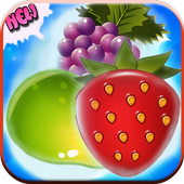 Match 3 Fruit Jungle icon
