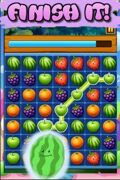 Match 3 Fruit Jungle poster