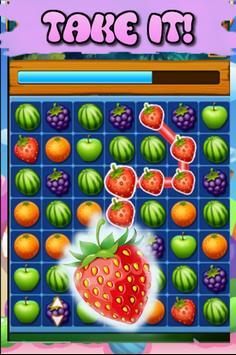 Match 3 Fruit Jungle screenshot 2