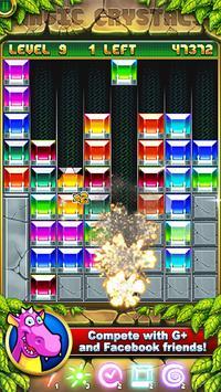 Magic Crystals: match 3 jewels apk screenshot