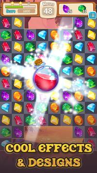 Monster busters match 3 puzzles apk screenshot