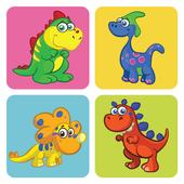 Dinosaur Memory Games for Kids icon
