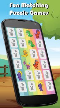 Dinosaur Memory Games for Kids apk screenshot