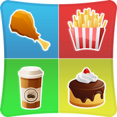 Foods Match Memory Games Kids icon