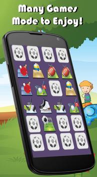 Foods Match Memory Games Kids apk screenshot