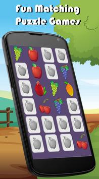 Fruits Match Memory Games Kids apk screenshot