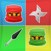 Ninja Match Memory Games Kids icon