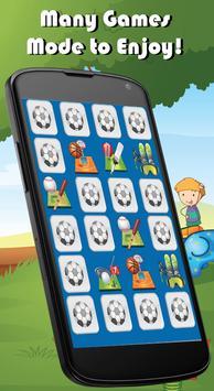 Ninja Match Memory Games Kids screenshot 2