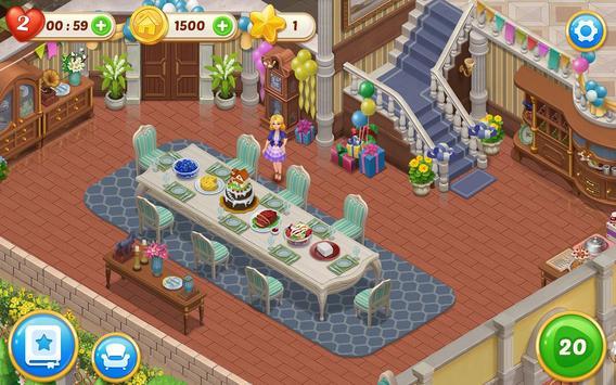 Matchington Mansion: Match-3 Home Decor Adventure apk screenshot