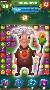 Merge Monsters - Free Match 3 Puzzle Game screenshot 8