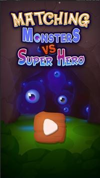 Merge Monsters - Free Match 3 Puzzle Game poster