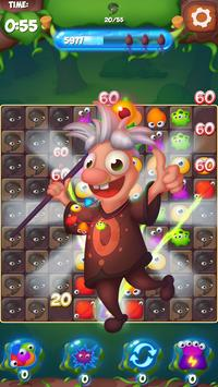 Merge Monsters - Free Match 3 Puzzle Game screenshot 1