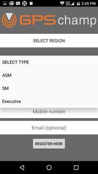 GPS Champs - Matchpoint GPS apk screenshot