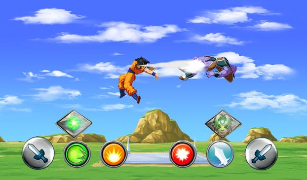 Goku Saiyan for Super Battle Z apk screenshot