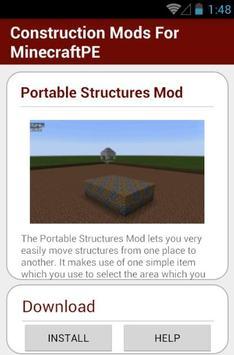 Construction Mods For MCPE screenshot 10