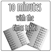 10 minutes with times tables icon