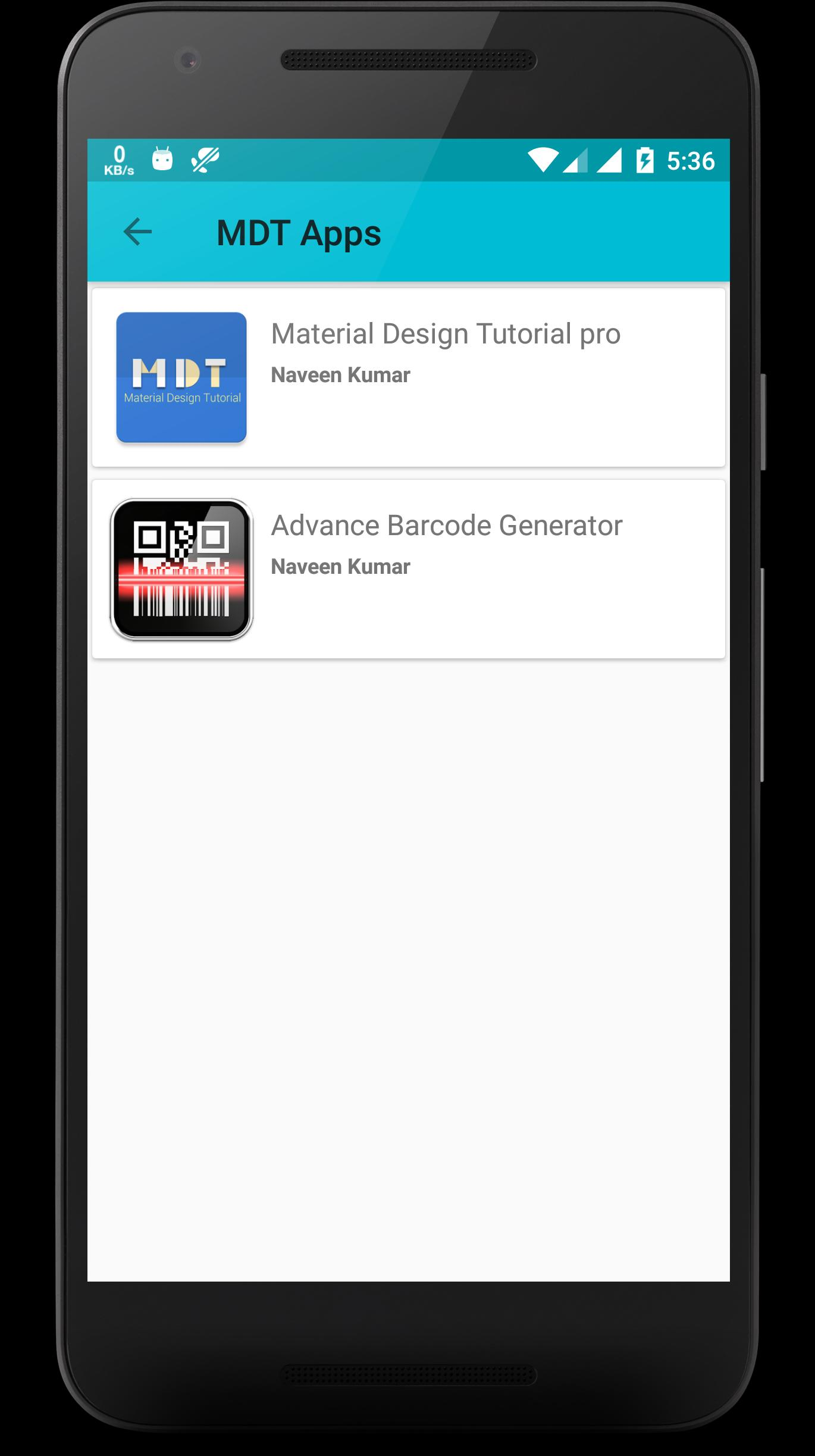 Material Design Tutorial for Android - APK Download