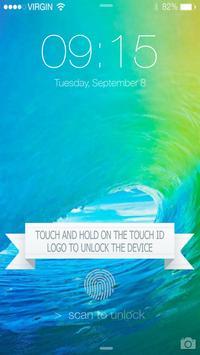 Fingerprint LockScreen Prank6S poster