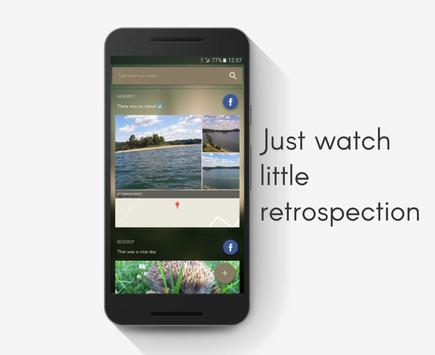 Retrospection apk screenshot