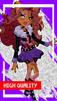 Clawdeen Night Wolf Wallpapers poster