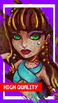 Cleo Monster de Nile Dolls Wallpapers apk screenshot
