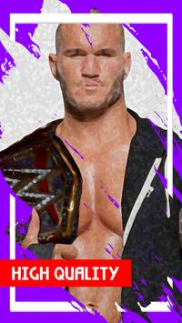 Randy Wallpaper Orton poster
