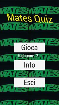 Mates Quiz poster