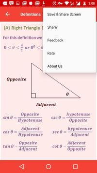Mathematical Formulae Offline screenshot 7