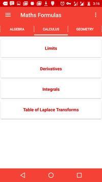 Mathematical Formulae Offline screenshot 3