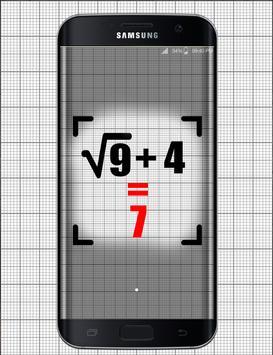 Math auto answers simulator poster