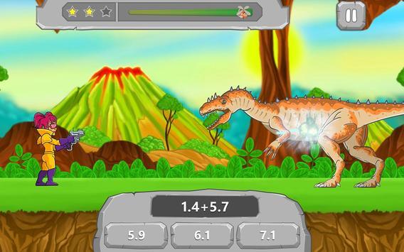 Math vs Dinosaurs Kids Games apk screenshot