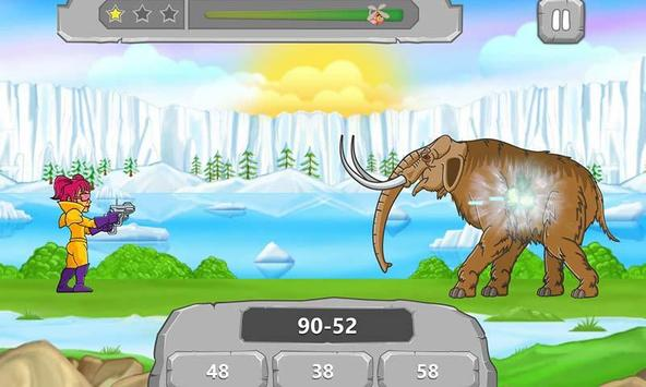 Math vs Dinosaurs Kids Games poster