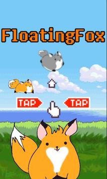 Floating Fox poster