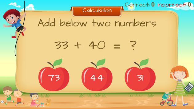 Math Buddy - a Learning and Practice Math Concepts apk screenshot